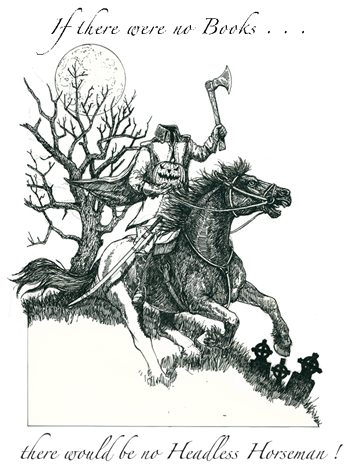 Headless Horseman Letterpress Broadside cover