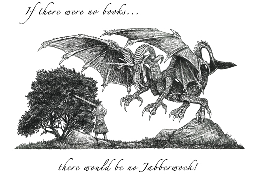 Jabberwock Letterpress Broadside