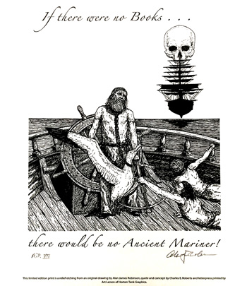 Ancient Mariner Letterpress Broadside cover