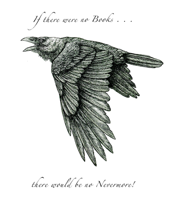Nevermore Letterpress Broadside cover