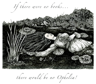 Ophelia Letterpress Broadside cover