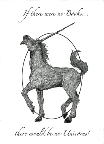 Unicorn Letterpress Broadside