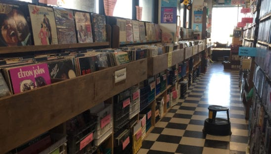 Frederick Vinyl Section