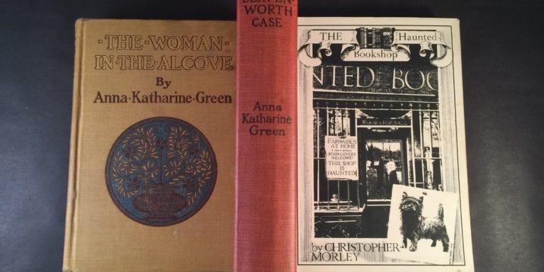 Anna Katharine Green and Christopher Morley Books