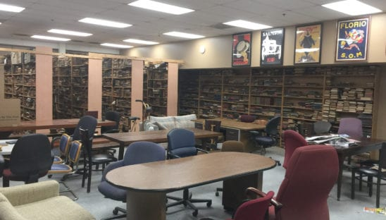 Wonder Book Break Room