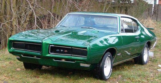 Green 1970 GTO