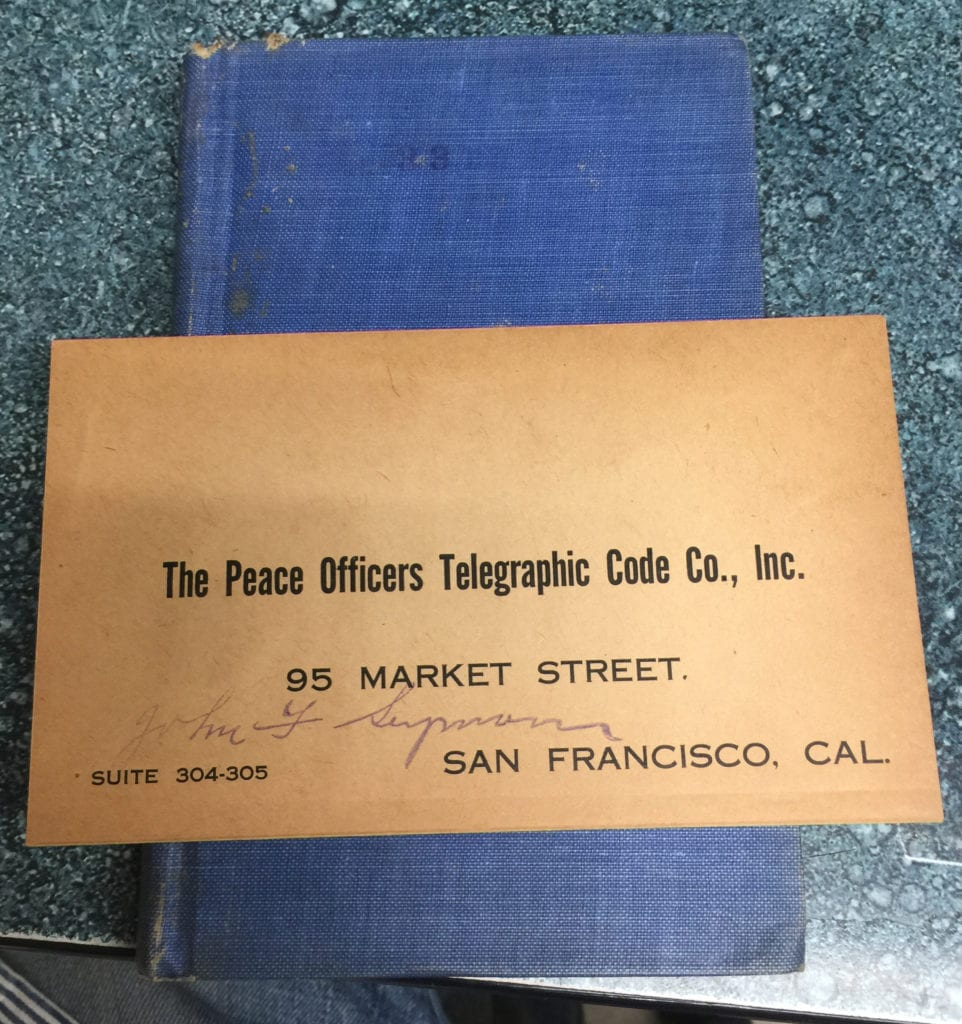 Telepgraph Book
