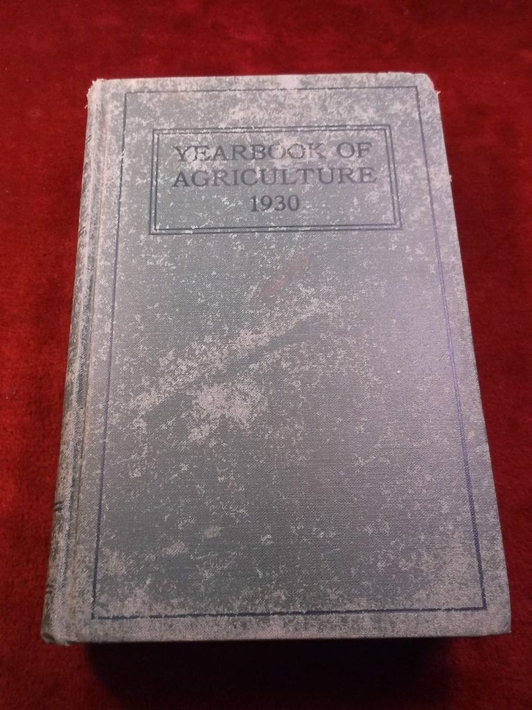 Agriculture Yearbook