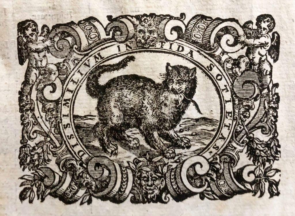 Cat Printer's Tailpiece