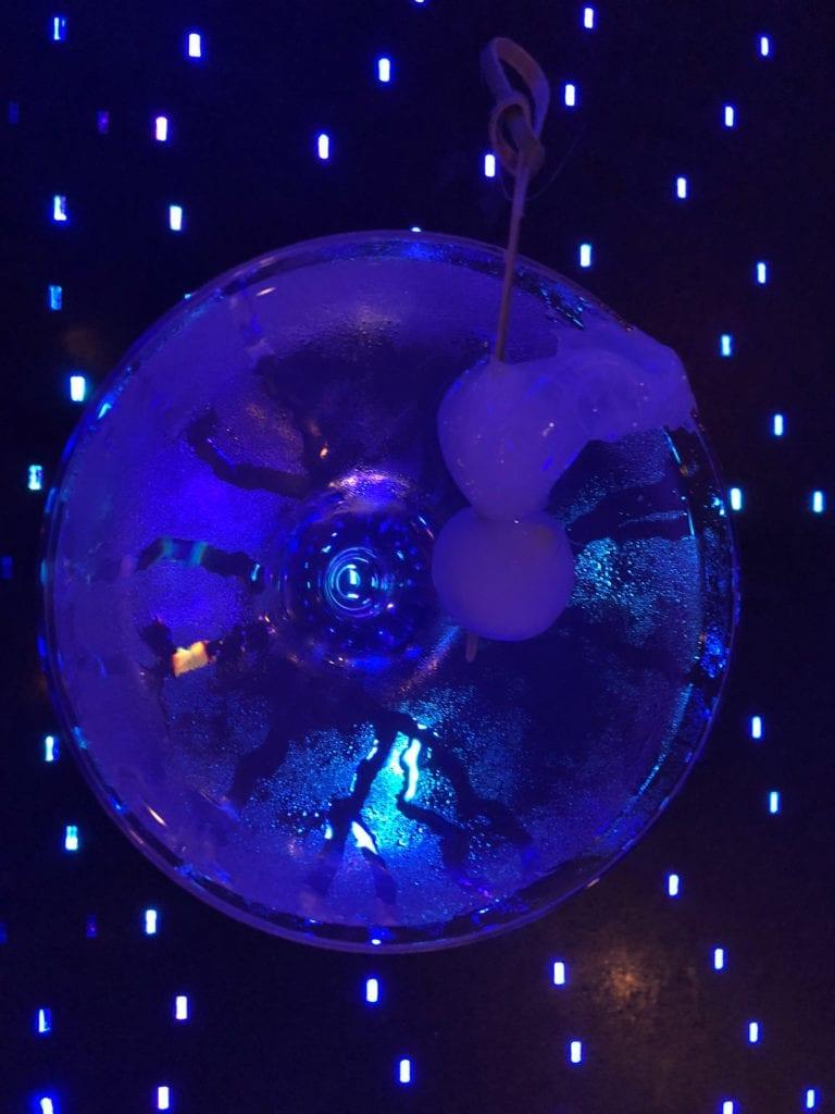 Blue Bar Gin Gibson