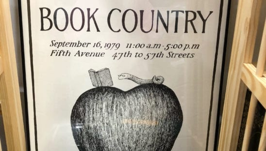 New York Book Poster
