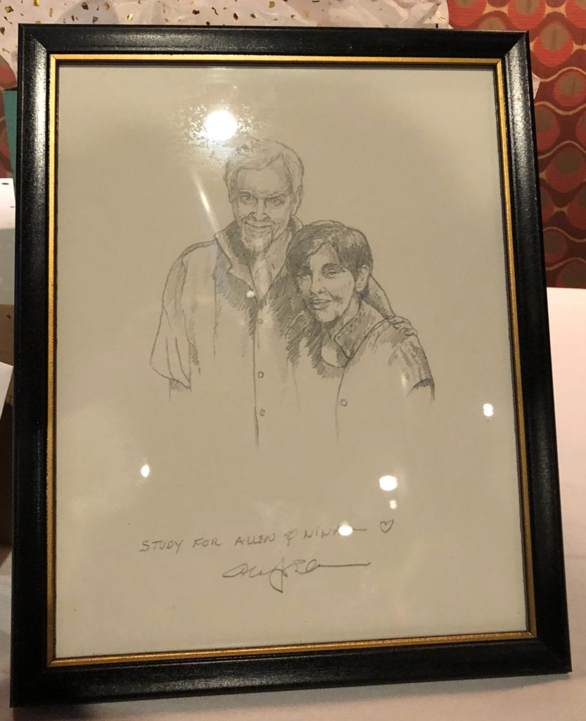 Allen & Nina Drawing