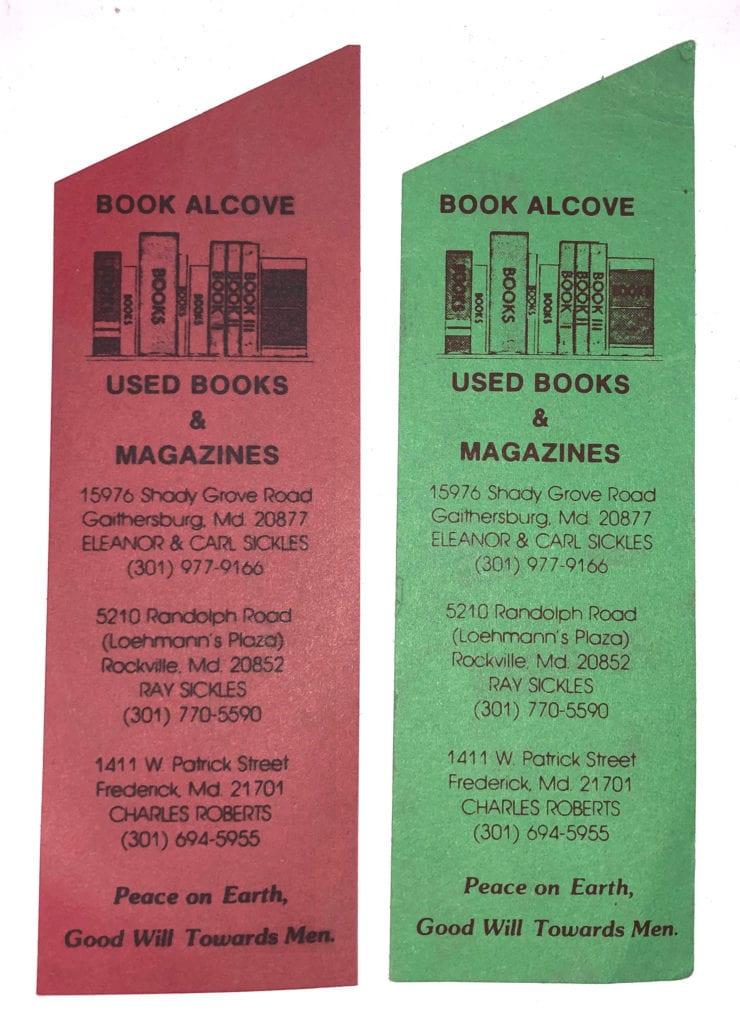 Book Alcove Bookmarks