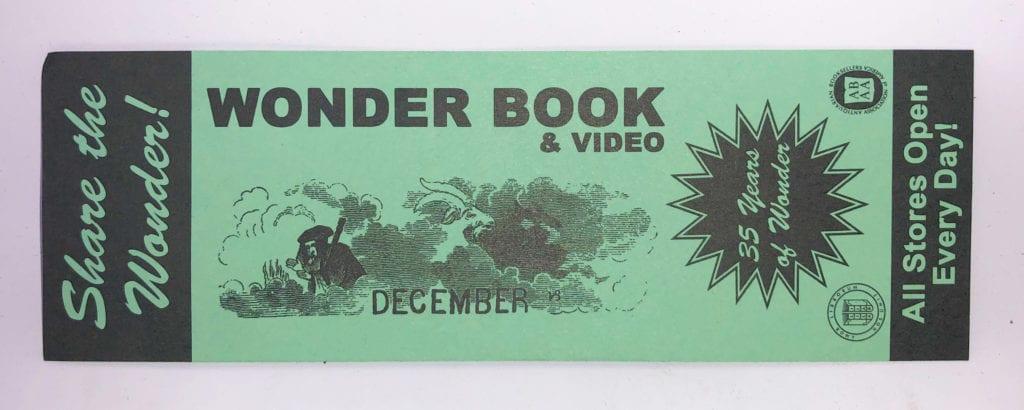 Wonder Book Bookmark