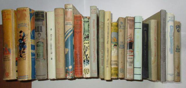 Vintage Adventure Books