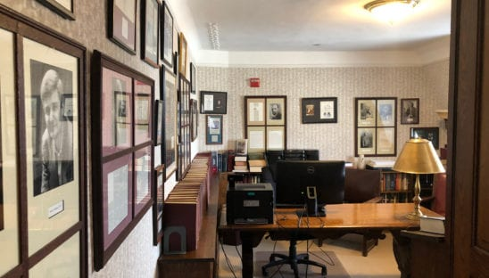 Cosmos Club Writers Room