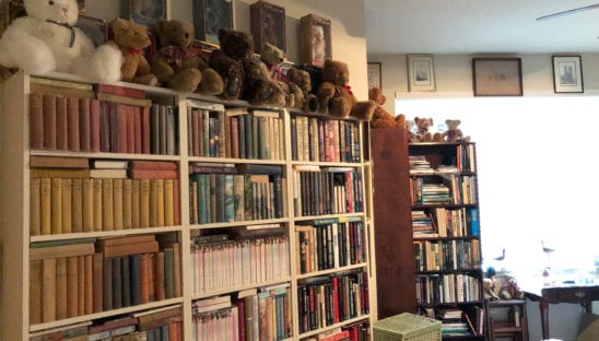 Floor-to-Ceiling Bookcases