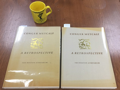 2 Conger Metcalf Books