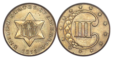 3-Cent Pieces