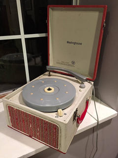 1950s Turntable