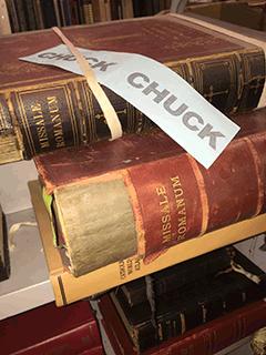 Chuck Slips