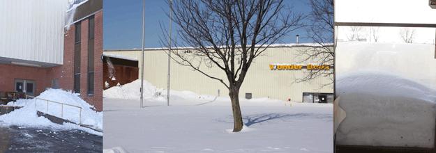 Snowy Warehouse