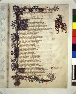 The Ellesmere Chaucer