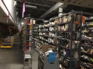 Darkened Warehouse