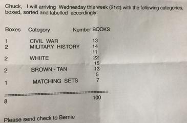 Bernie's Email