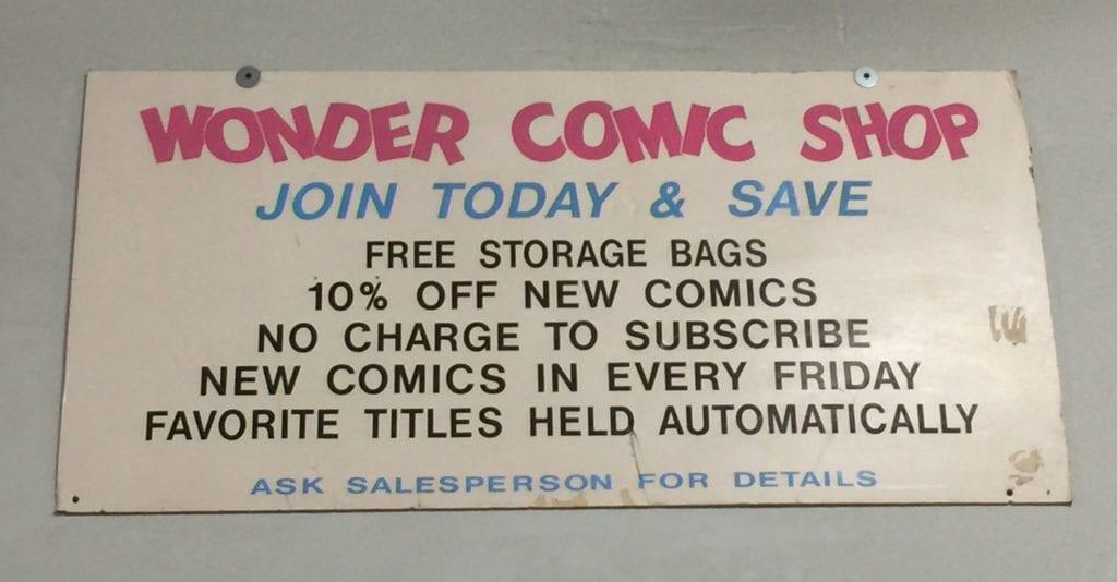 Wonder Comic Shop