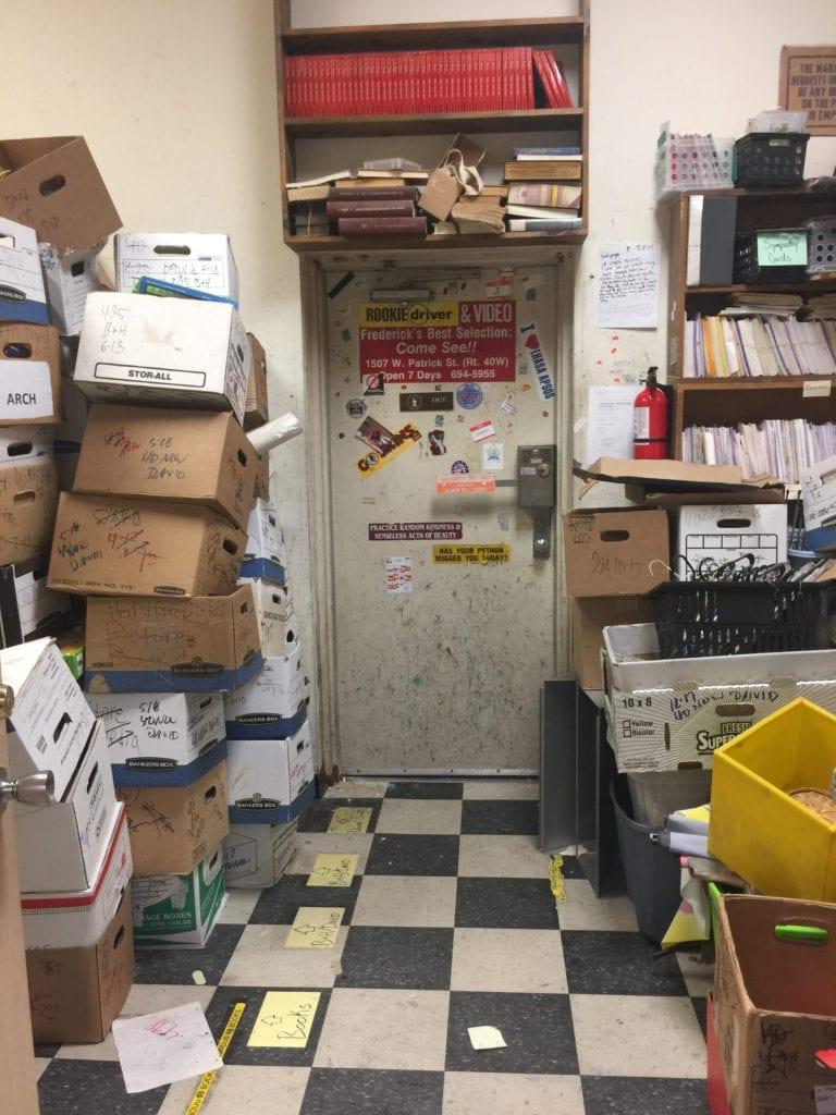 Wonder Book Storeroom