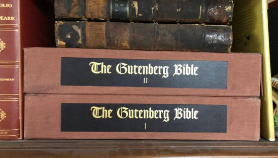 The Gutenberg Bible Facsimile