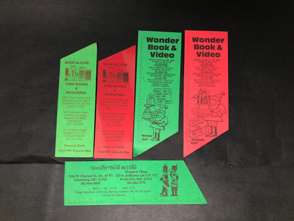 Bookmark Fronts