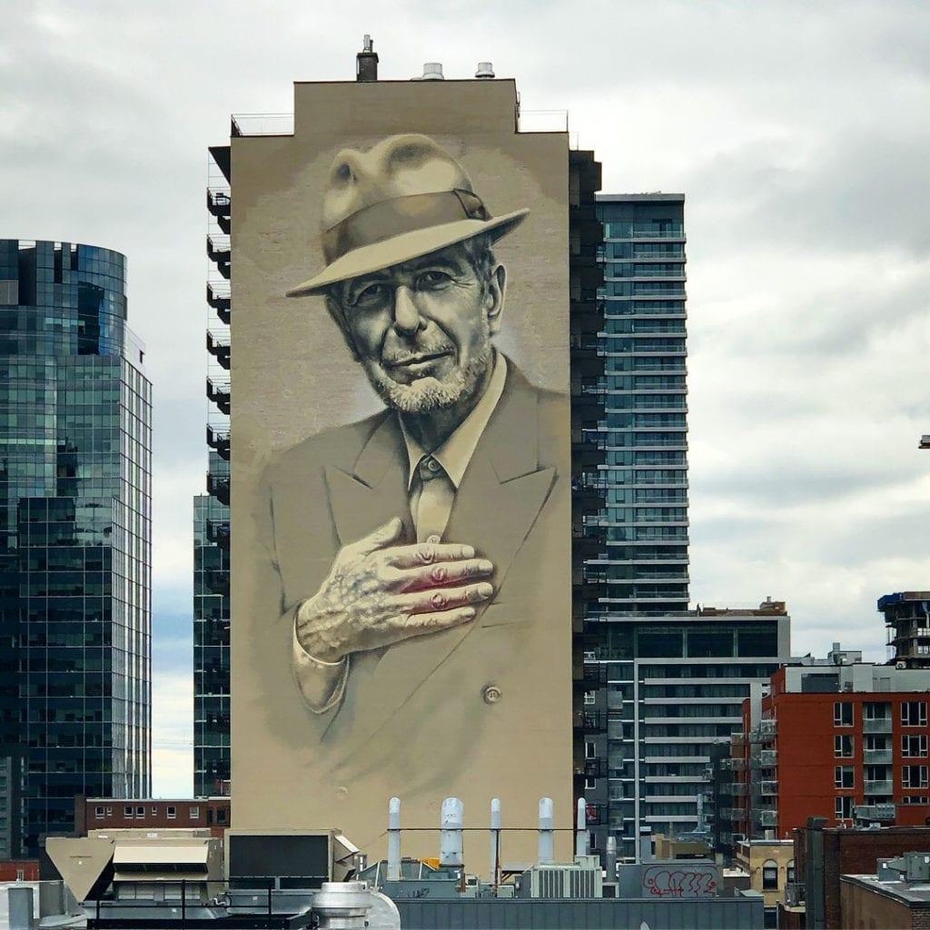 Cohen Mural