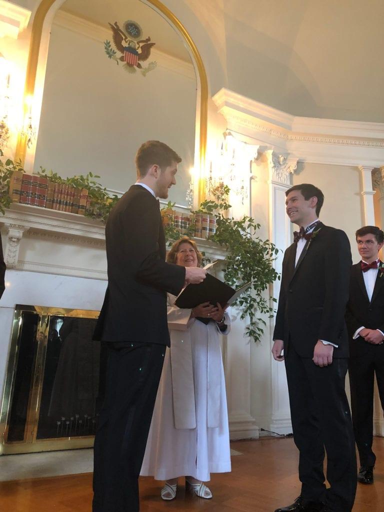 Chuck's Son's Wedding