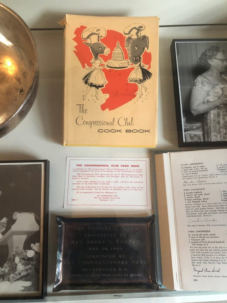 The Congressional Club Cook Book