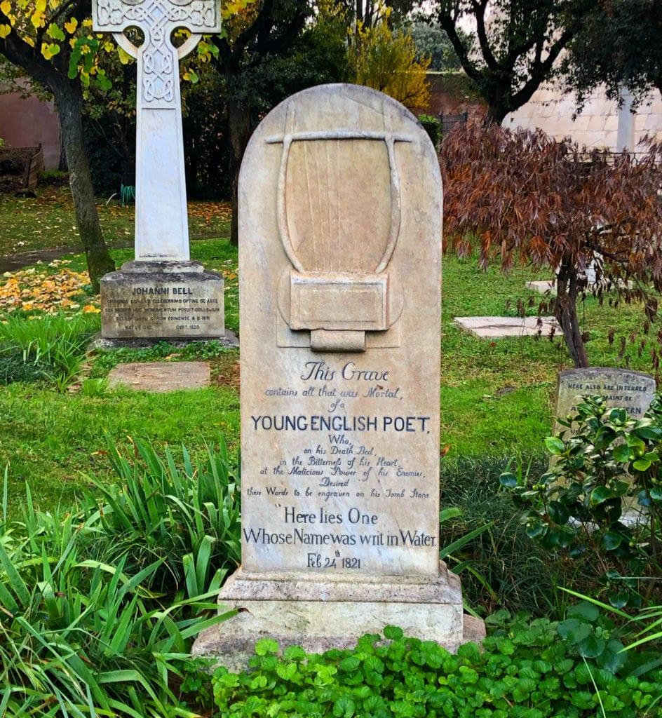 Keats' Grave
