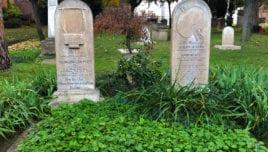 Keats' & Severn's Graves