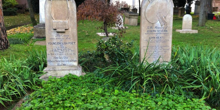 Keats' & Severn's Graves