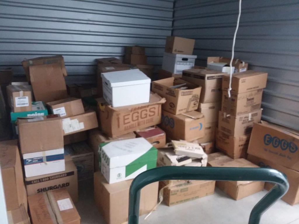 Jasmine's Storage Unit
