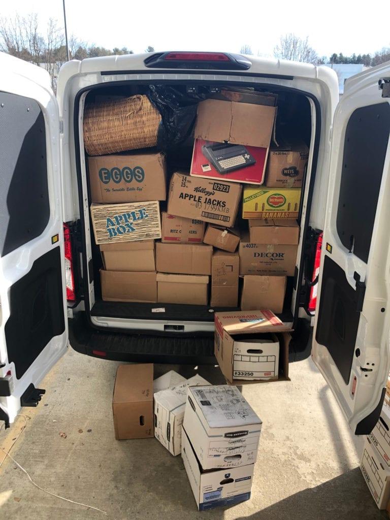 Very Full Van