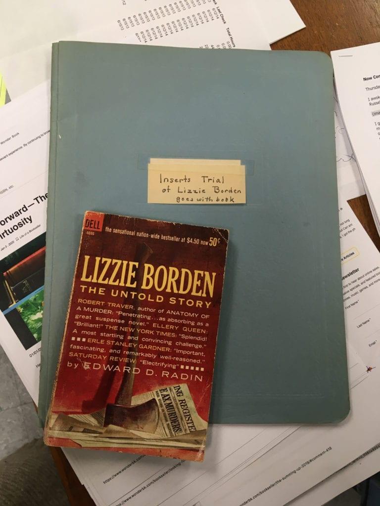 Lizzie Borden Folder