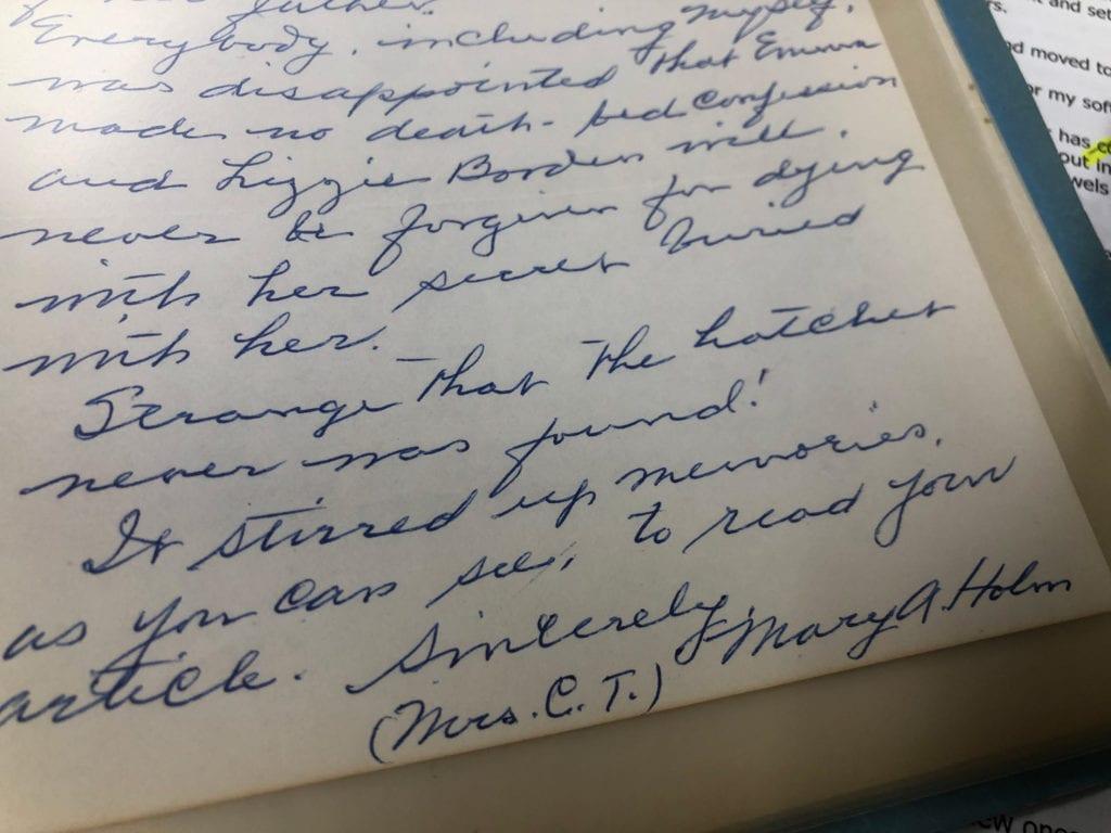 Lizzie Borden Excerpt