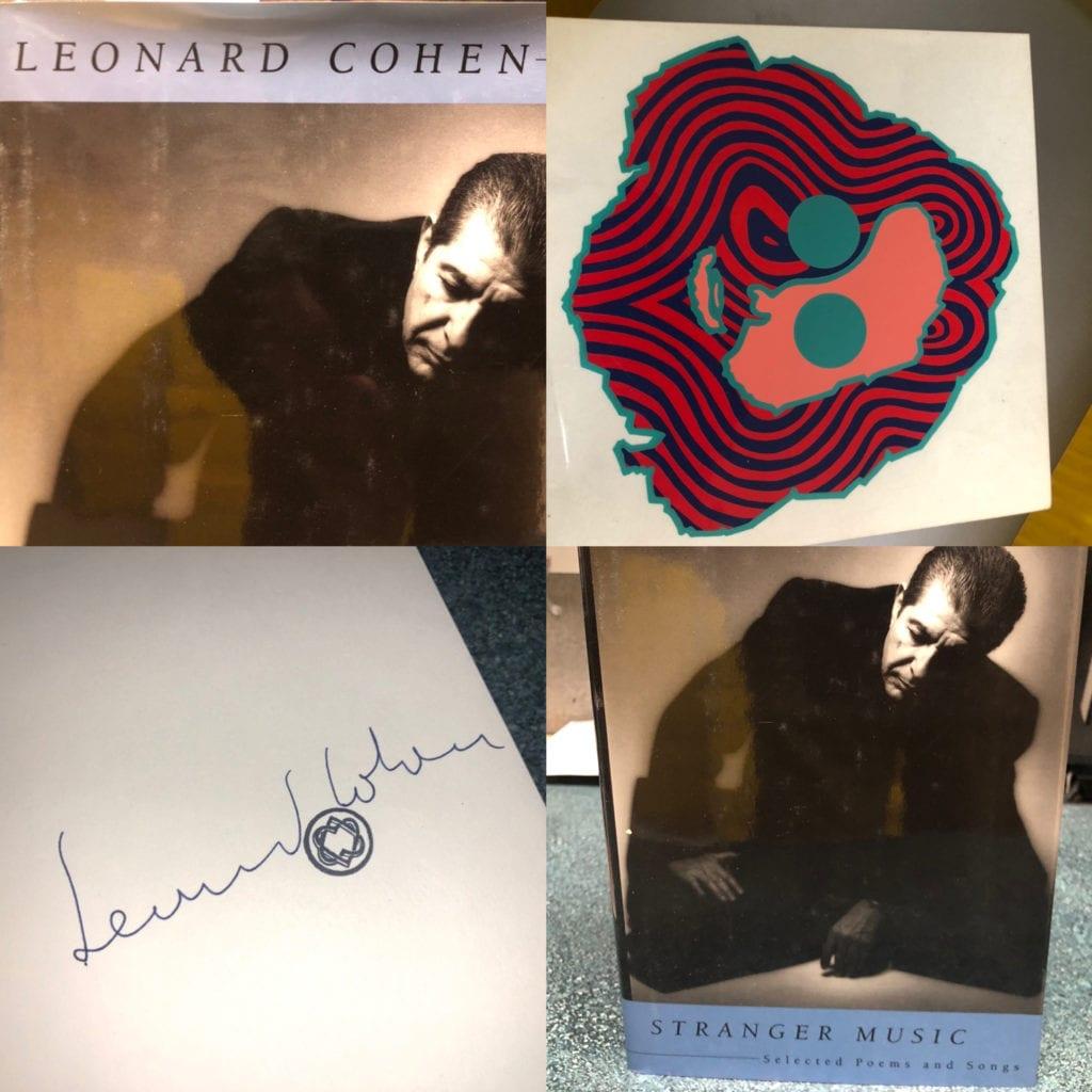 Leonard Cohen Book