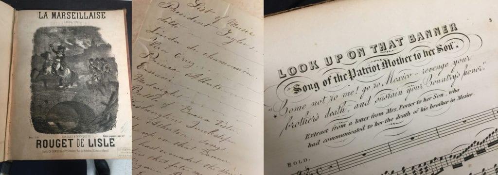 19th Century Sheet Music