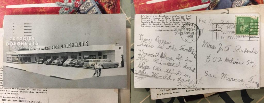 Grandma's Postcard