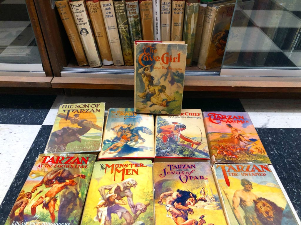Edgar Rice Burroughs Reprints with Jackets