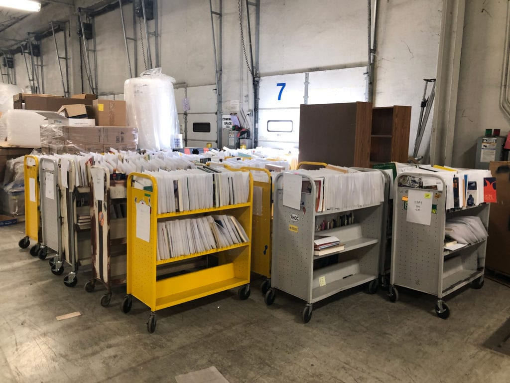 Carts of Orders