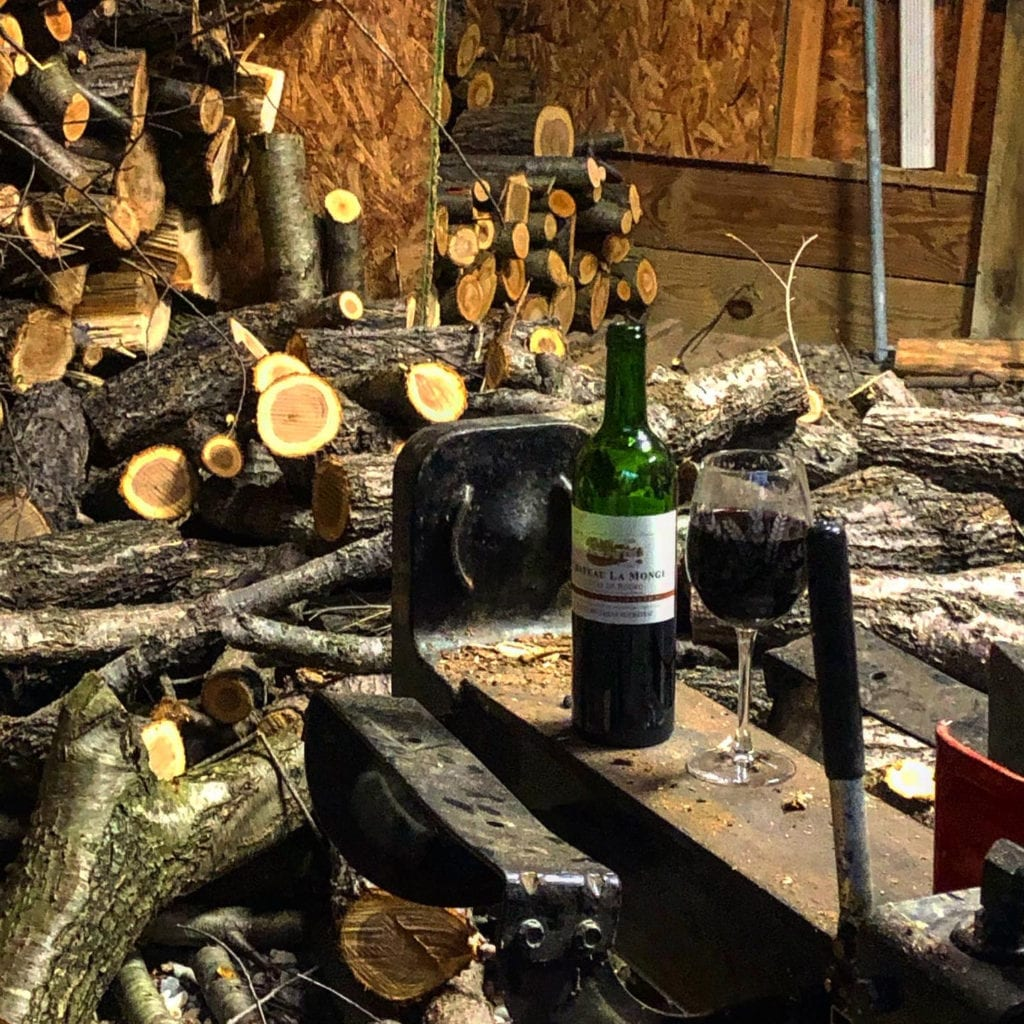 Wine and Wood Splitter