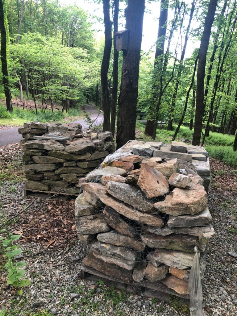 Pallets of Stones